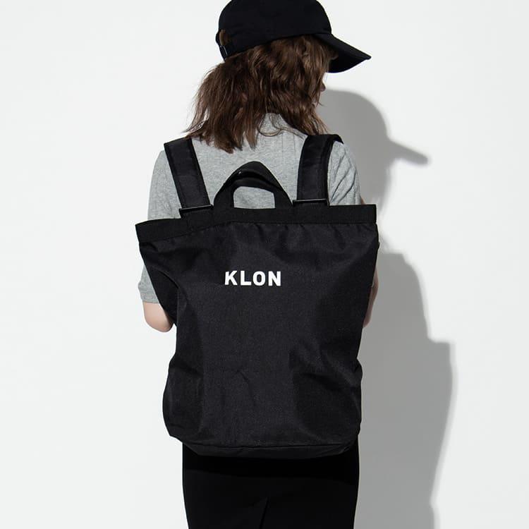 KLONのトートバッグのようなリュック